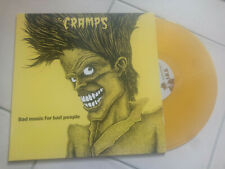 THE CRAMPS Bad music for bad people LP Vynil couleur