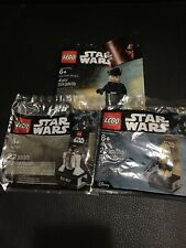 Lot of 3LEGO Star Wars 40176 Scarif Stormtrooper and 40268 R3-M2 Polybag 5004406