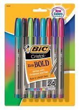 Bic Msbapp241-A-Ast Cristal Xtra Bold Fashion Ballpoint Pen Medium Point (1.6mm)