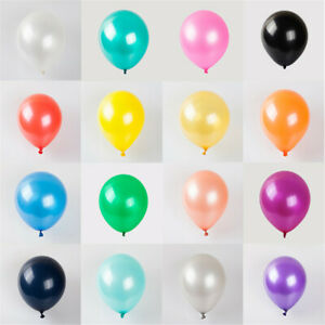 AXMCCH 10Pcs 10inch Colorful Latex Balloons Wedding Birthday Party Decoration