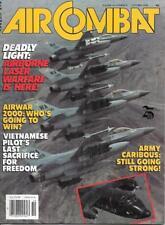 Air Combat Oct.1988 Army Caribous Airborne Laser Warfare Vietnamese Pilot's C130