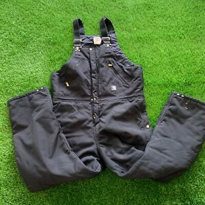 Carhartt Black Overalls 38x32 Great Condition