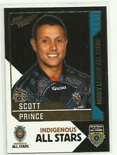 2012 NRL SELECT DYNASTY TITANS SCOTT PRINCE INDIGENOUS ALL STARS AS17 CARD