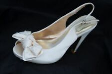 Satin Peep Toe NEXT Bridal Shoes