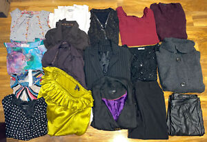Lovely Large Ladies Clothes Bundle Size 10/12 Ted Baker, Next...(17 items)
