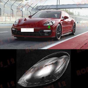 For Porsche Panamera 2017-2021 Left Side Headlight Clean Cover PC+Glue