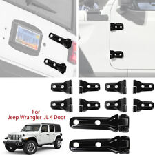For 2018 Jeep wrangler JL Door & Tailgate Hinge Covers Exterior Accessories 10pc
