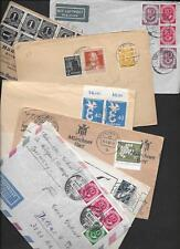 GERMANY 1950's-60's COLLECTION OF 10 COMMERCIAL COVERS ALL TO US