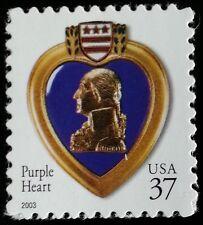 2003 37c Purple Heart Special Issue Scott 3784a Mint F/VF NH
