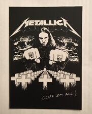 Metallica Sticker - Cliff Em All