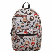 Harry Potter Backpack Rucksack School Bag CHIBI Art Bioworld Official Gift UK