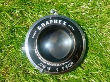 "VINTAGE ALUMINIUM LENS ""GRAPHEX TRADE MARK MADE BY WOLLENSAK ROCHESTER U.S.A."""