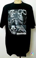 EVILESS Streetwise Clothing T Shirt Black Sz L Urban Streetwear Street Skulls
