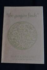 ISLAMIC POTTERY OF SELJIQ PERIOD GURGAN FINDS EXHIBITION CATALOGUE BLUETT & SONS