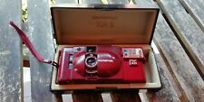 OLYMPUS XA2 RED WITH FLASH A11 RARE TESTED