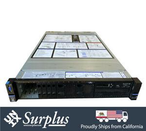 2U IBM x3650 M5 8 Bay SFF SAS3 Storage Server 2x E5-2620 V3 12 Core Quad 1GB Nic