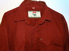 CAMEL    Men's  Cotton   SHIRT   Sz. M