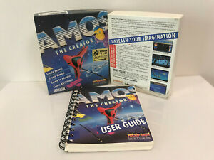 "AMOS Creator (Commodore Amiga application, 3.5"" disk, boxed complete)"