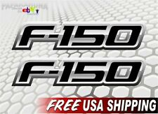 (2) F-150 FX4 XLT XTR SPORT RAPTOR Decals Ford F150 Emblem Vinyl Stickers