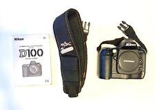 Nikon D100 6.1 MP Digital SLR Camera - Black (Body with Strap & Battery Charger)