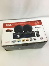 Boss Audio Systems 656BCK Bluetooth CD/MP3/AM/FM Plus One Pair of 6.5