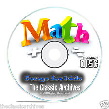 Childrens Math Singalong Songs, Learn Times Tables Improve Multiplication CD E83