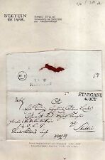 v027 aus Stettin Sammlung 3 Briefe 1829 Fahrpost Stargard Berlin Daber