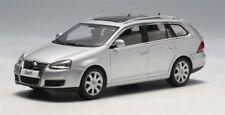 VW VOLKSWAGEN GOLF V 5 VARIANT SILVER METALLIC 2007 AUTOART 59701 1/43 SILBER