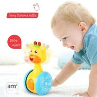 Cute Giraffe Style Tumbler Toy Roly-poly Baby Developmental Toy