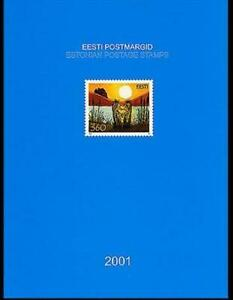 Estonia 2001 Complete Year Set MNH**