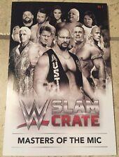 WWE Slam Crate Exclusive WWE Mini Encyclopedia Volume One, The Rock