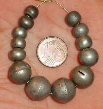 12mm Perles Argent Ancien Bijou Maroc Antique Ethnic Moroccan Silver Berber Bead