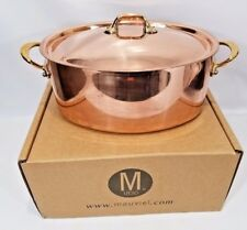 Mauviel France M150B 1.5mm Copper 6.75 Quart Oval Cocotte Dutch Oven NEW