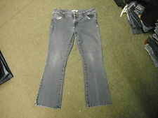 """Dorothy Perkins Bootcut Jeans Size 16 Leg 28"""" Faded Dark Blue Ladies Jeans"""