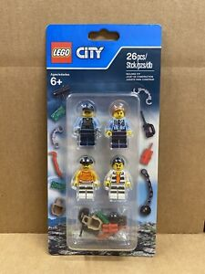 LEGO City - 853570 - Police Prison Island Accessory Pack - NEW - FREE SHIPPING