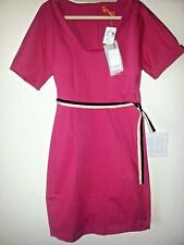 NWT Lavia Cotton Fitted Dress  Pink  Size 46 NEW