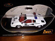 Ixo 1/43 Lamborghini Countach Pace Car Monaco Gp 1982 CLC018