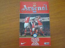 Arsenal v Leeds United - FA PL  - Season 1999 - 2000 (VGC).