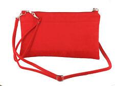Divine Faux Suede Clutch/Shoulder/Crossbody/Wristlet Bag Wedding Prom bag Large