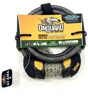 OnGuard Bulldog DT 8015M Medium Bike U-Lock Cable Motorcycle//Versatile Security