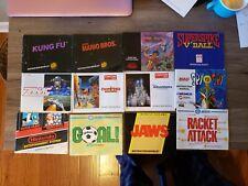 Nintendo NES Manual Lot