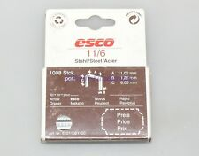 1008 x ESCO TACKERKLAMMER 11/6 ARROW RAWLPLUG RAPID