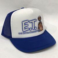 ET Extra Terrestrial Movie Promo Trucker Hat Vintage 80's Mesh Back Snapback Cap