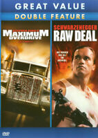 MAXIMUM OVERDRIVE / RAW DEAL (DOUBLE FEATURE) (DVD)