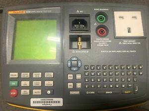 Fluke 6500 Pat Tester Portable Aplliance Test Not Calibrated No Case