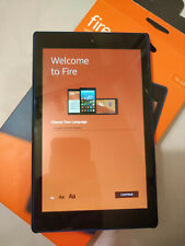 Amazon Fire HD 8 (7th Generation) 16GB, Wi-Fi, 8 inch - Marine Blue with Cover