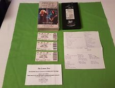 JIMMY PAGE + ROBERT PLANT VIDEO  3 WEMBLEY TICKETS, INFO 1995 TOUR LED ZEPELLIN