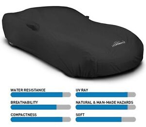 Coverking Solid Stormproof Car Cover - Indoor/Outdoor - Great for Outdoor use