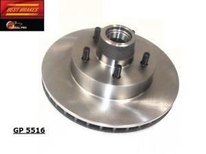 Disc Brake Rotor-Vandura, GAS Front Best Brake GP5516
