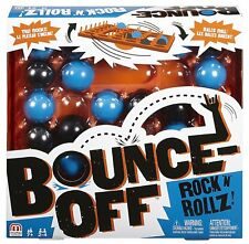 NEW Mattel Bounce Off Rock N' Rollz Game. Ages 7+. 2-4 Players. Fun Family Game!